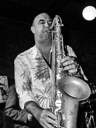 Günter Weber - Saxofonist